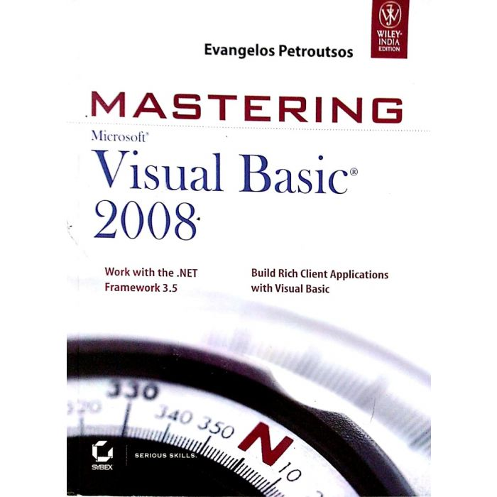 Mastering Microsoft Visual Basic 2008 - BooksKart