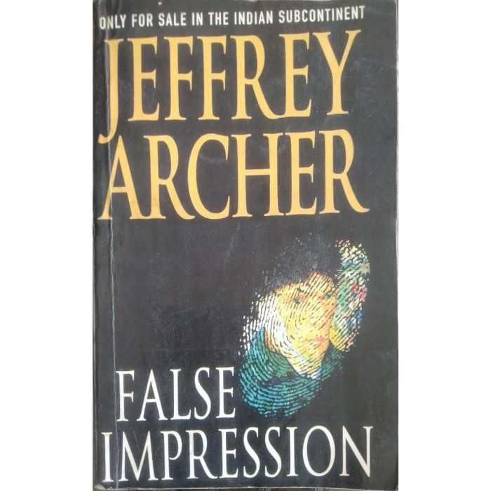 Jefferey Archer - False Impression - Paperback - BooksKart