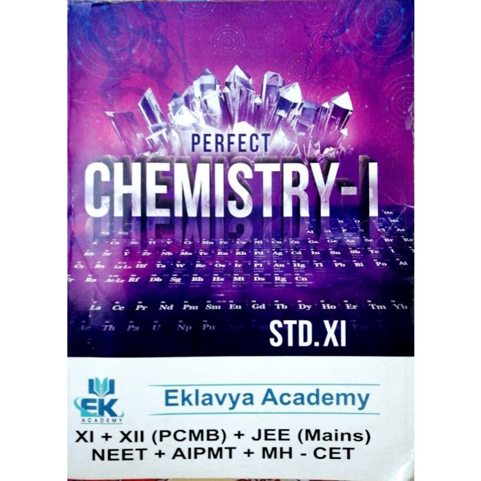 Perfect Chemistry - 1 for Std 11 (Science) Eklavya Academy - BooksKart