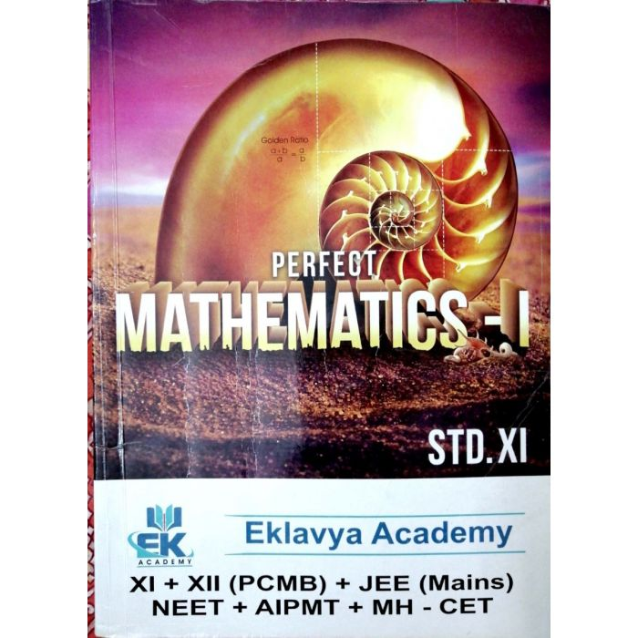 Perfect Mathematics - 1 for Std 11 (Science) Eklavya Academy - BooksKart