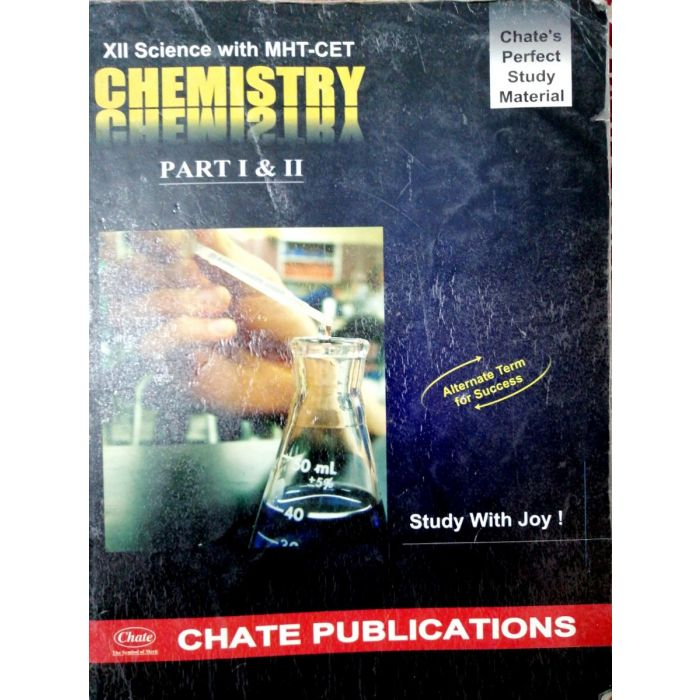 Chemistry Class 12 for MH-CET By Chate Publications - BooksKart