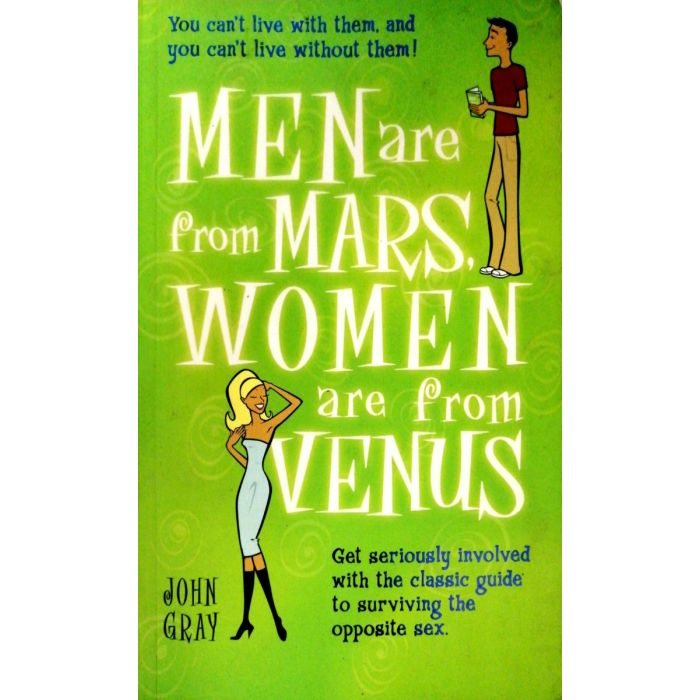 Men Are from Mars, Women Are from Venus by John Gray - BooksKart