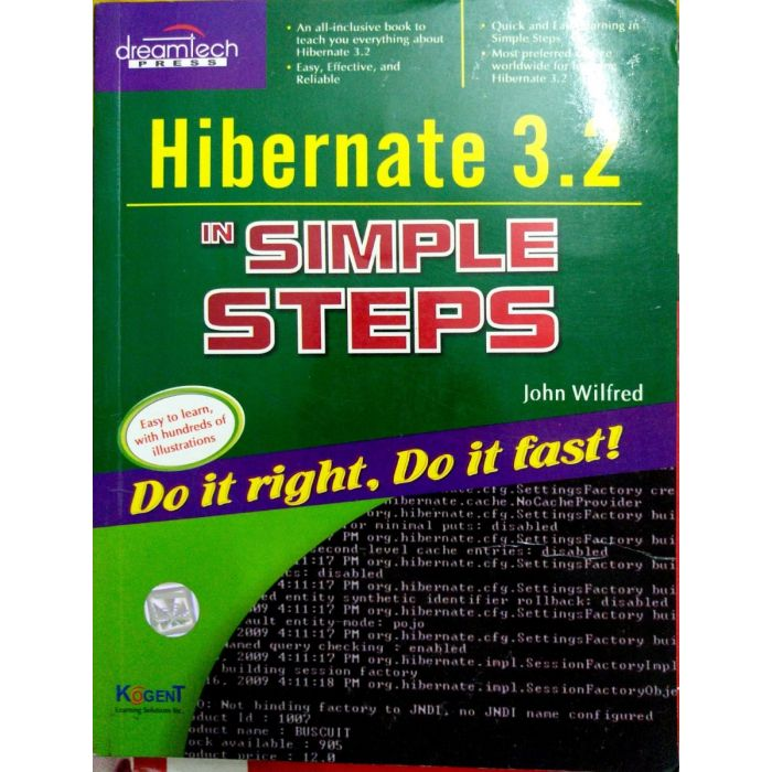Hibernate 3.2 in Simple Steps - BooksKart