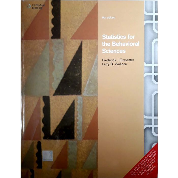 Statistics for the Behavioral Sciences - BooksKart