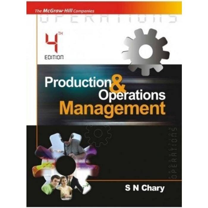 PRODUCTION & OPERATION MANAGEMENT 4th Edition (English, Paperback, CHARY) - BooksKart