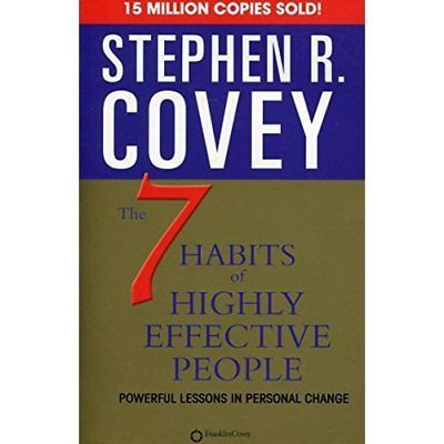The 7 Habits of Highly Effective People: Powerful Lessons in Personal Change - BooksKart