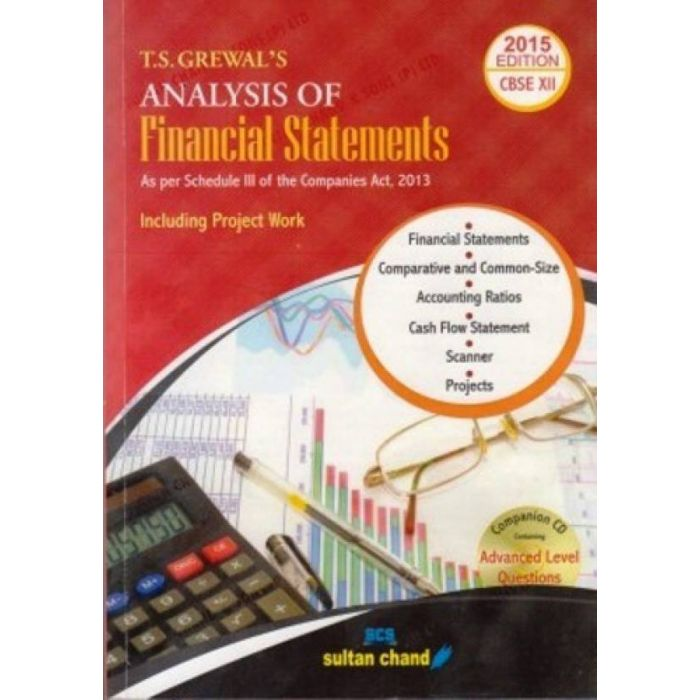 T.S.Grewal's Analysis of Financial Statements Class-12 Revised Edition (English, Paperback, T.S.Grewal) - BooksKart