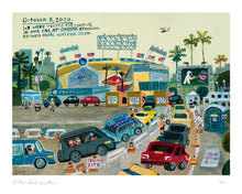 Load image into Gallery viewer, Esther Pearl Watson, Dodger Stadium Covid Print