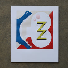 Load image into Gallery viewer, Math Bass, Newz!, Letterpress Print