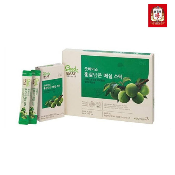 GoodBASE Plum Stick With Kr. Red Ginseng