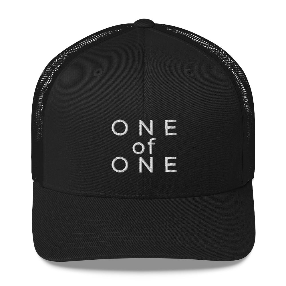 ONE OF ONE TRUCKER HAT