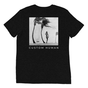 custom human tee rogue coast california