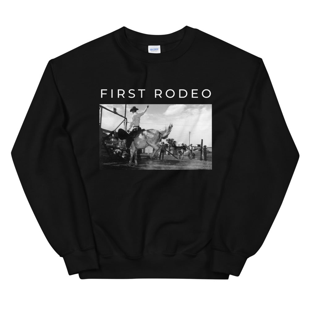 FIRST RODEO | CREW SWEATSHIRT