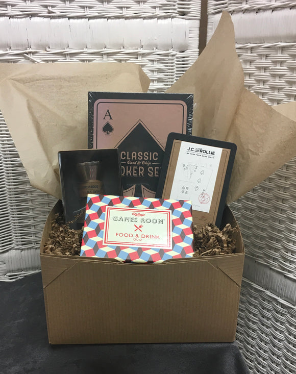 Men's Game Night Gift Box