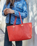 Valentina Breezy East/West Tote