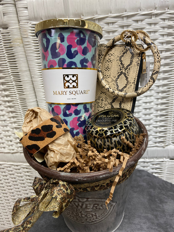 Wild Side Gift Basket
