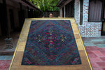Load image into Gallery viewer, 'Lotus Frame, Phurba & Dorje', Tibetan Wall Hanging Art