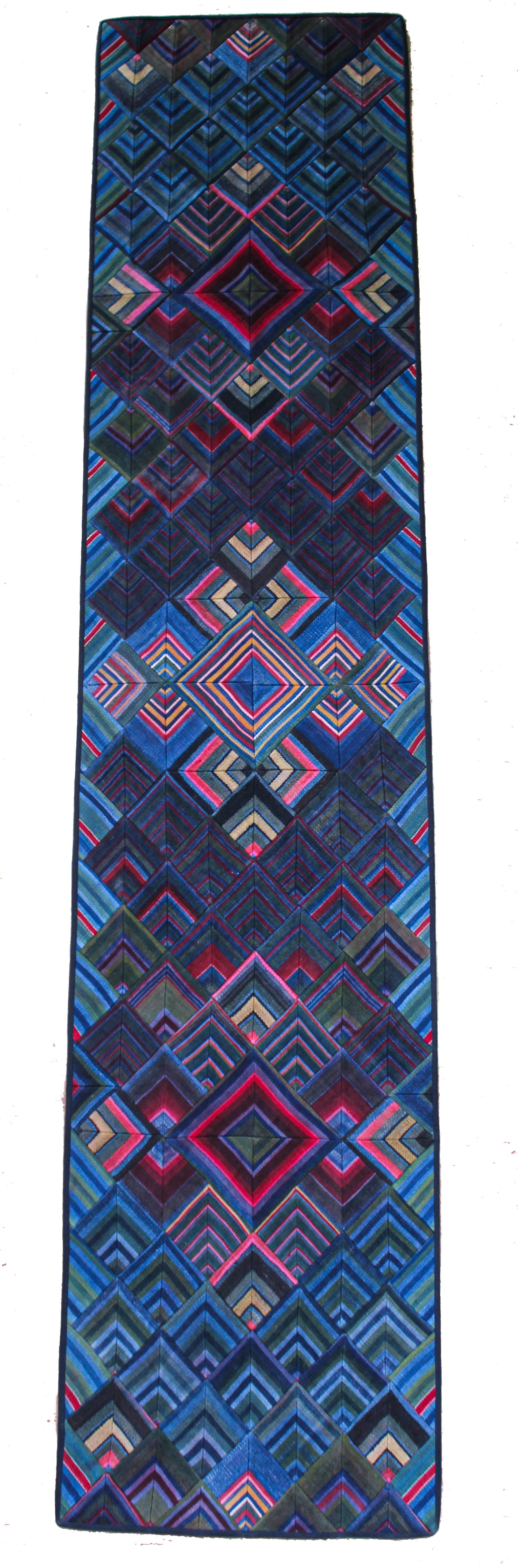 'Double Dorje Tapestry', Tibetan Wall-Hanging Art