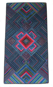 'Abstract Mandala', Tibetan Wall-Hanging Art