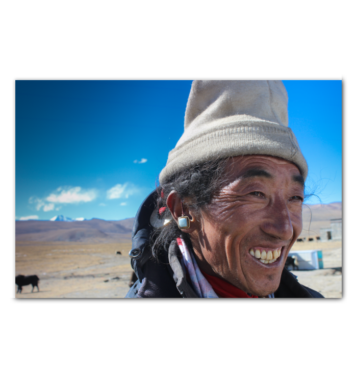 Nomad on the Tibetan Plateau