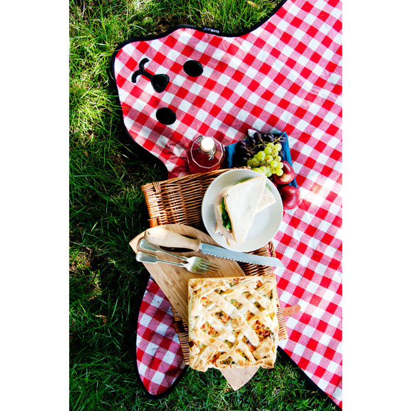 Suck UK Bear Skin Picnic Blanket