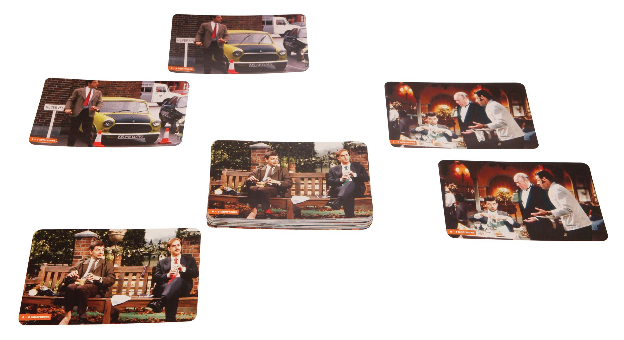 Mr Bean - Spot the Difference Puzzles by Lagoon - Australian Gifts Online - 2
