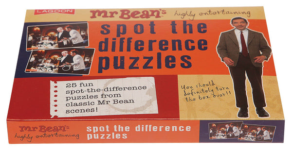 Mr Bean - Spot the Difference Puzzles by Lagoon - Australian Gifts Online - 1