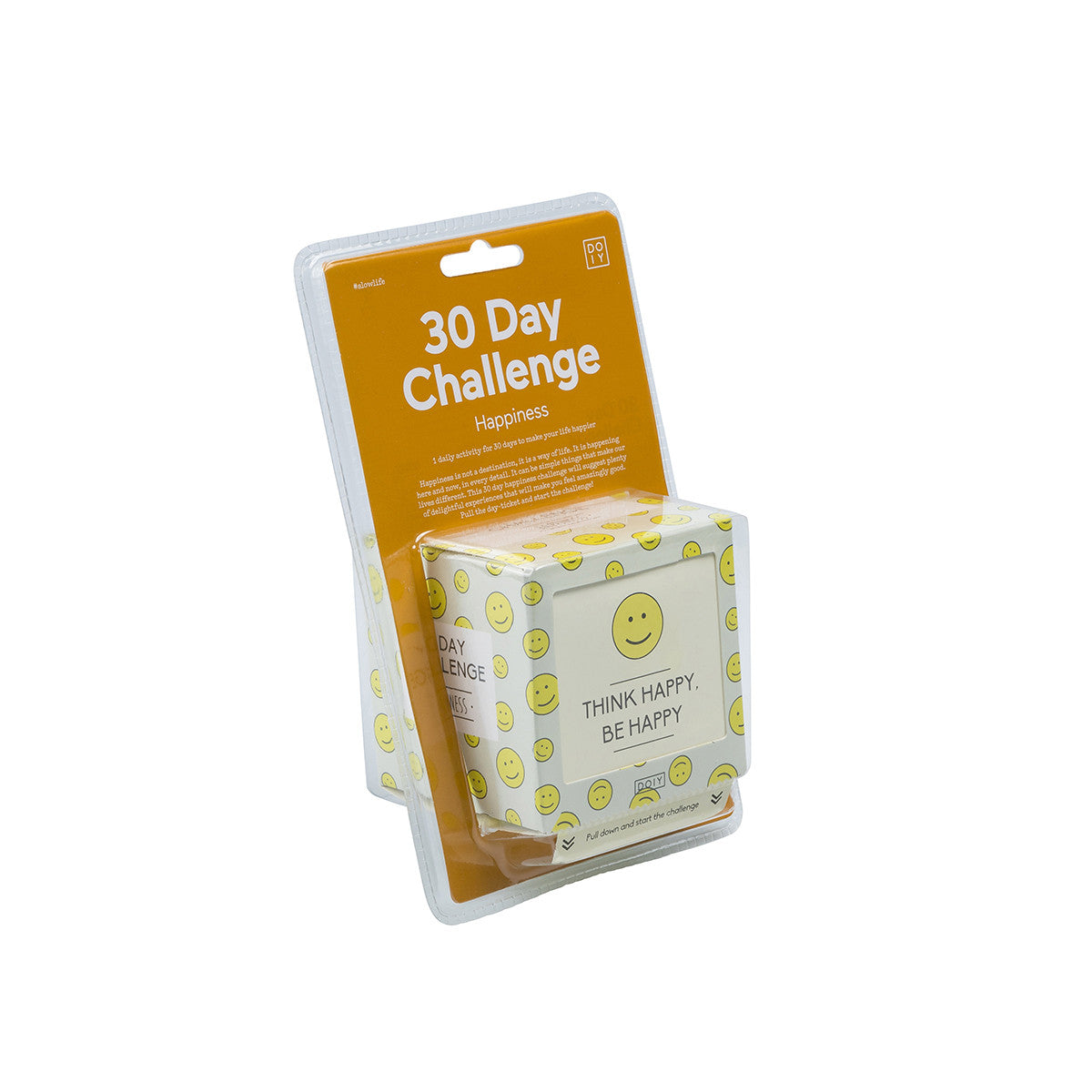 DOIY 30 Day Challenge Activity Box