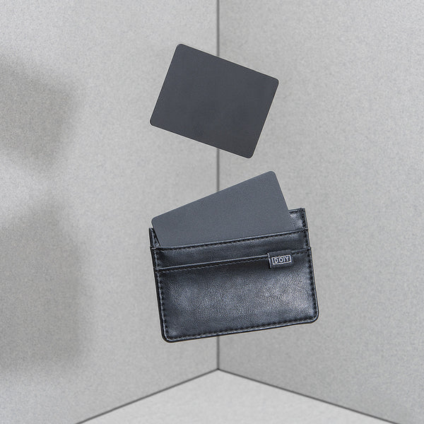 Honom Card Wallet Black DOIY