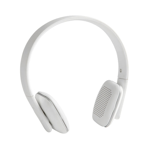 KREAFUNK Ahead White Edition Bluetooth Headphones