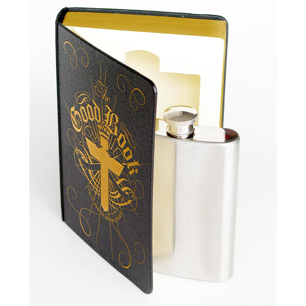 Flask In A Book Suck UK