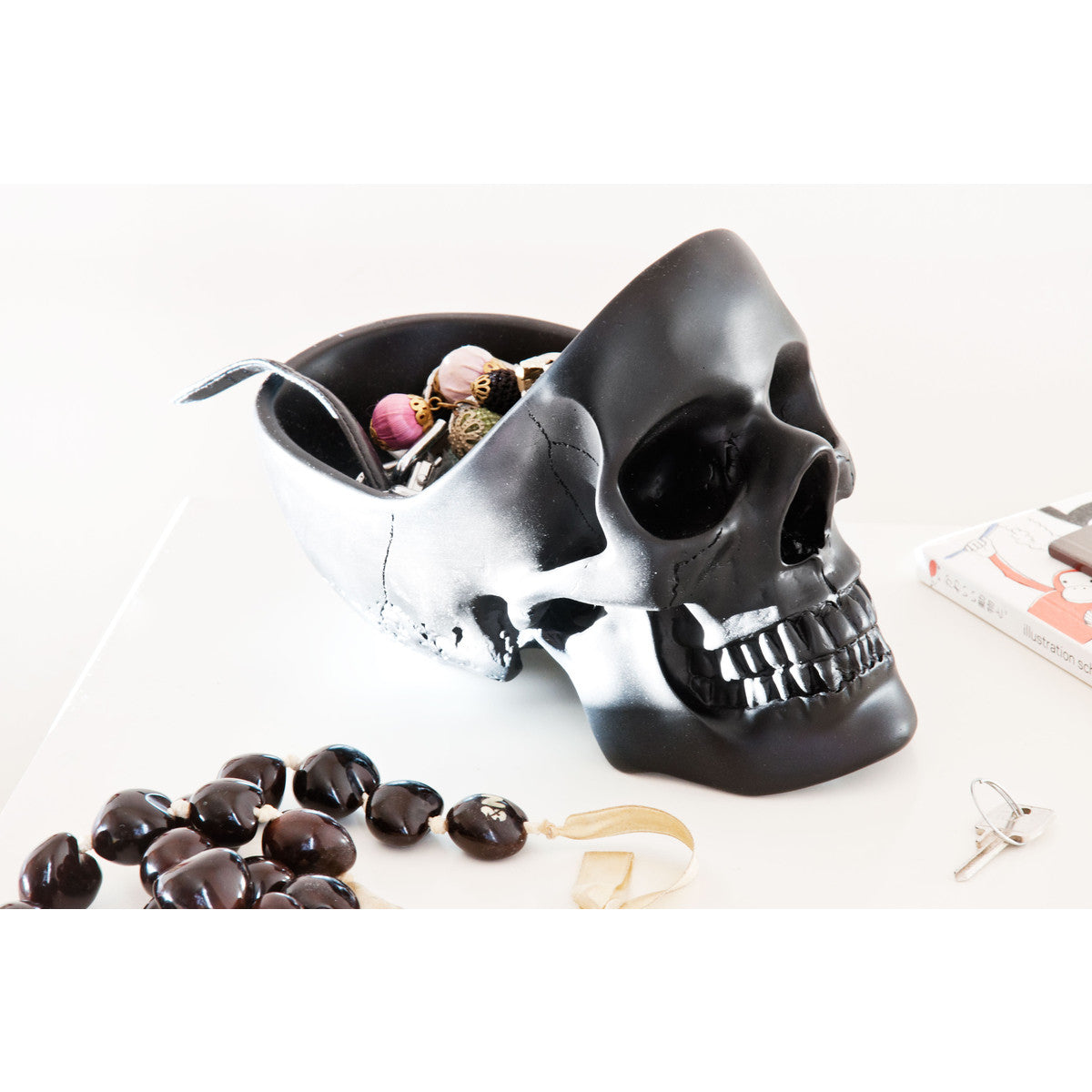 Skull Tidy Decorative Bowl Suck UK
