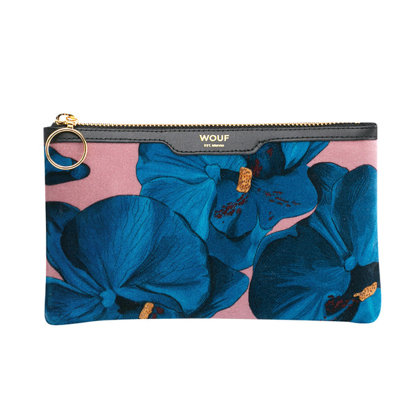 Pocket Clutch Orchidee Wouf