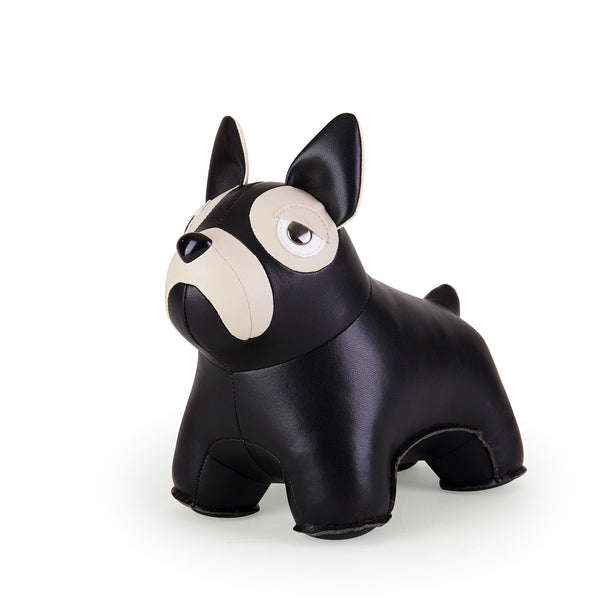 Zuny Bookend Classic French Bulldog Black