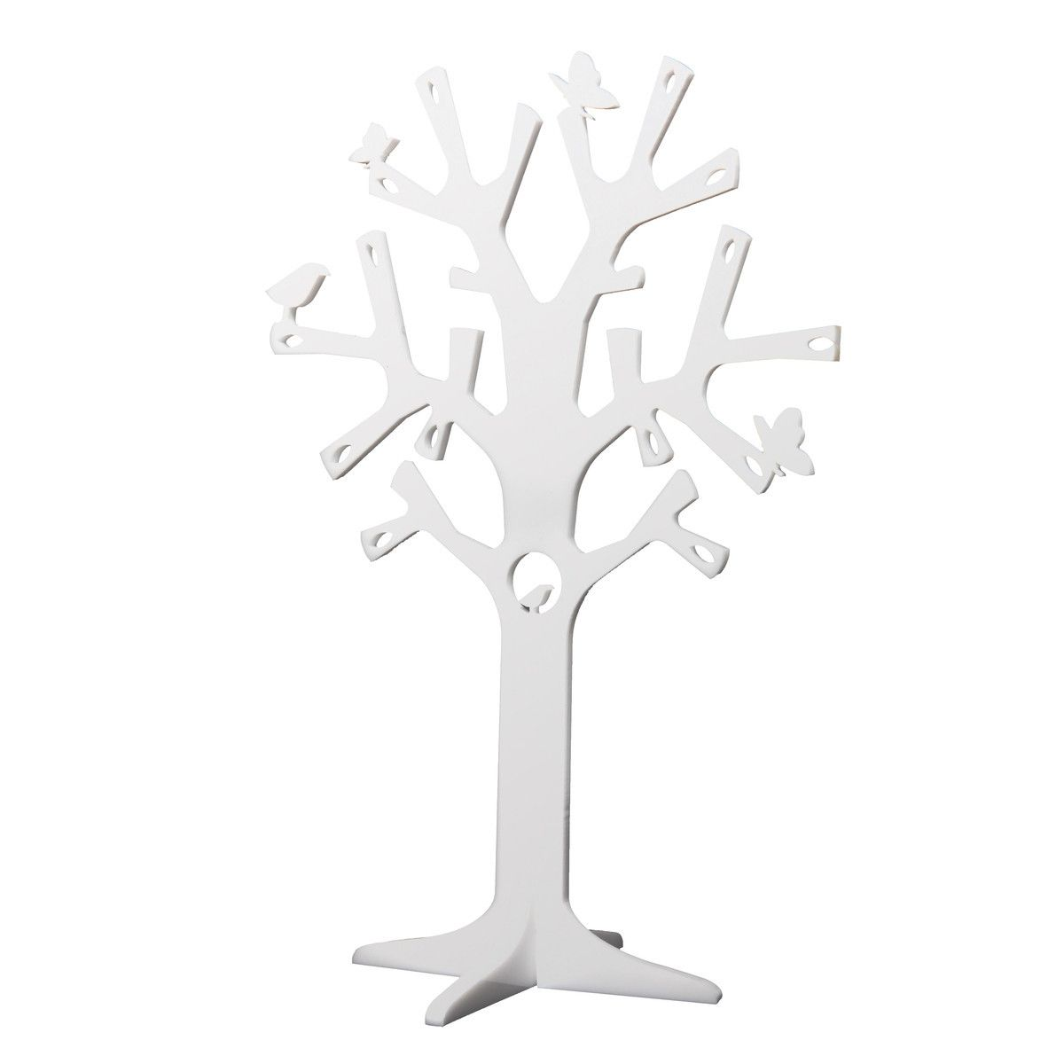 Newbies Jewellery Tree White A4