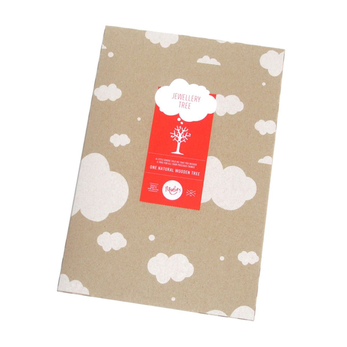 Jewellery Tree – A4 size White by Newbies - Australian Gifts Online - 2