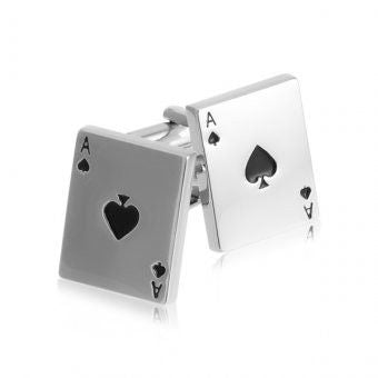 Cufflinks – Ace of Spades - Australian Gifts Online