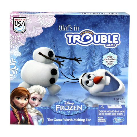 Frozen Olaf's In Trouble Board Game by Hasbro Games