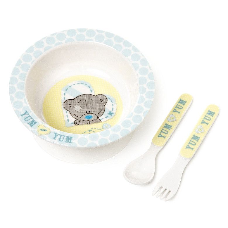 Carte Blanche Me to You Tiny Tatty Teddy Baby Bowl & Spoon Gift Set - Australian Gifts Online - 1