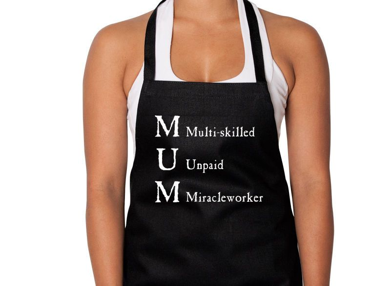 MUM Multi Skilled Unpaid Miracle Worker Apron - Australian Gifts Online