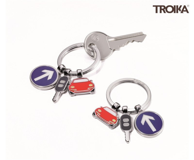 Troika On The Road Key Ring - Australian Gifts Online