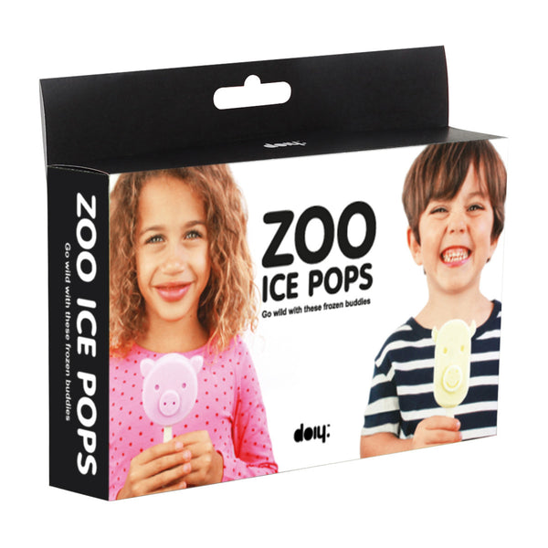 DOIY Zoo Ice Pops Ice Block Mould