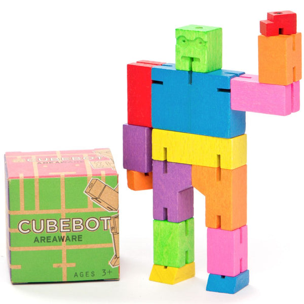 Cubebot – Micro Brainteaser Puzzle by Areaware - Australian Gifts Online - 1