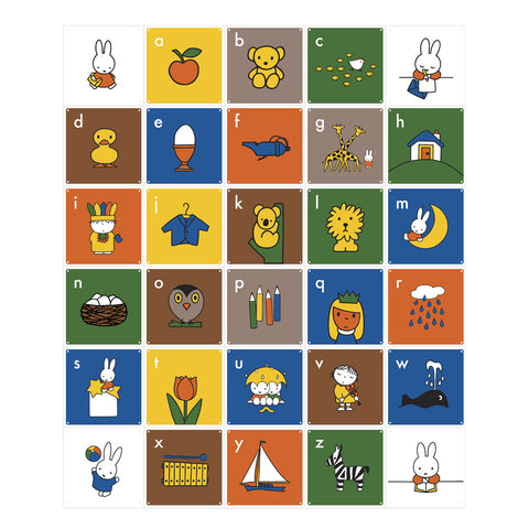 IXXI Miffy Abc Wall Art