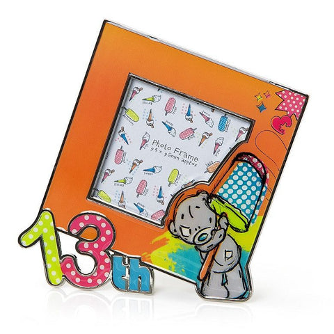 Carte Blanche Me to You Tiny Tatty Teddy 13th Birthday Picture Frame - Australian Gifts Online