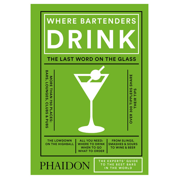 Phaidon Where Bartenders Drink