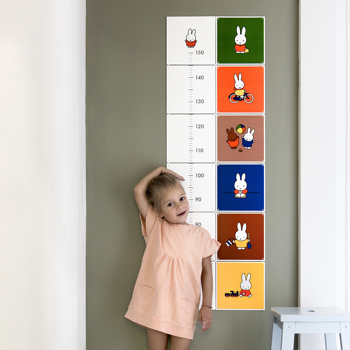 IXXI Miffy Growth Chart Wall Art