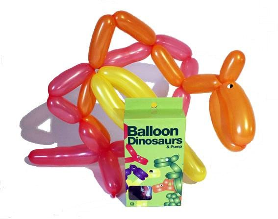 Balloon Dinosaurs by NPW