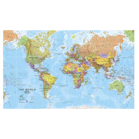 IXXI World Map Wall Art