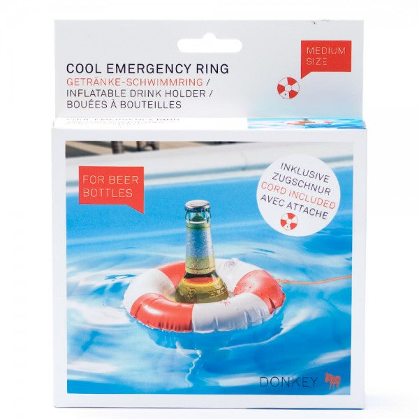 Donkey Products Cool Emergency Ring Beer Holder